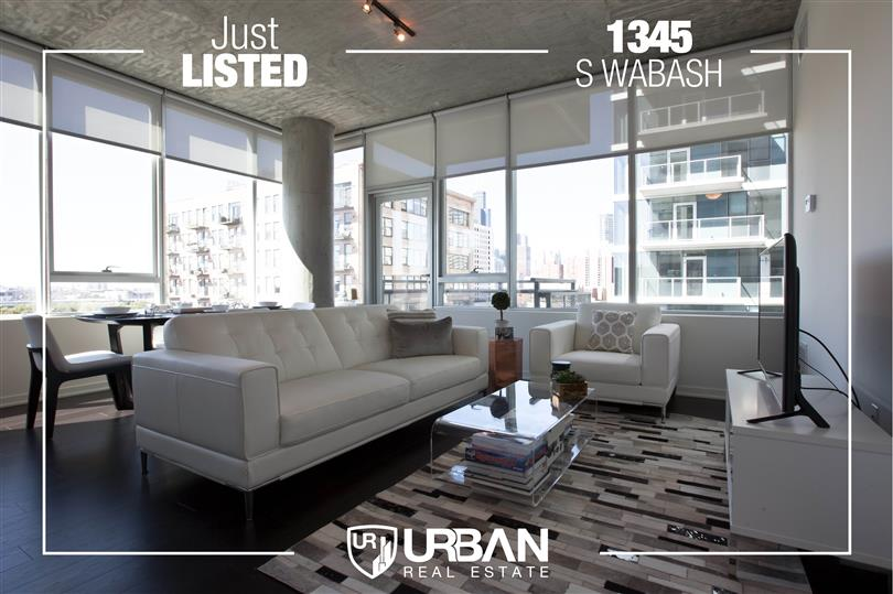 Modern Living Just Listed in the South Loop