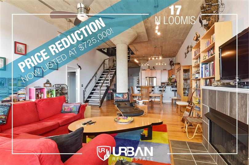 Price Reduction on Heartbreak Lofts Penthouse!