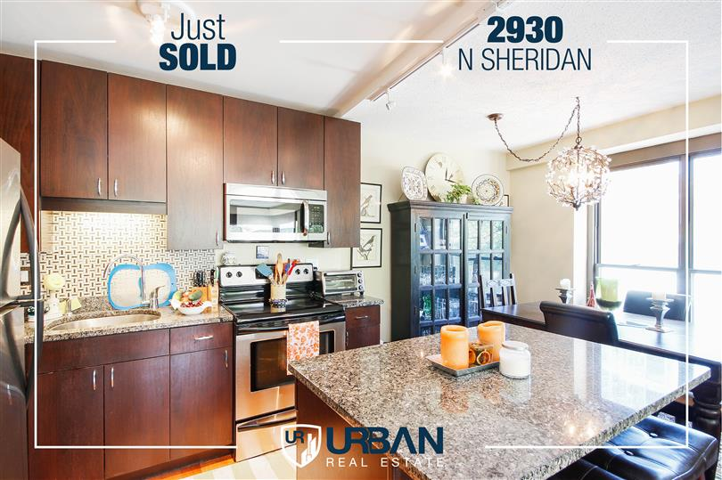 Light & Bright Corner Unit Just Sold in Lakeview