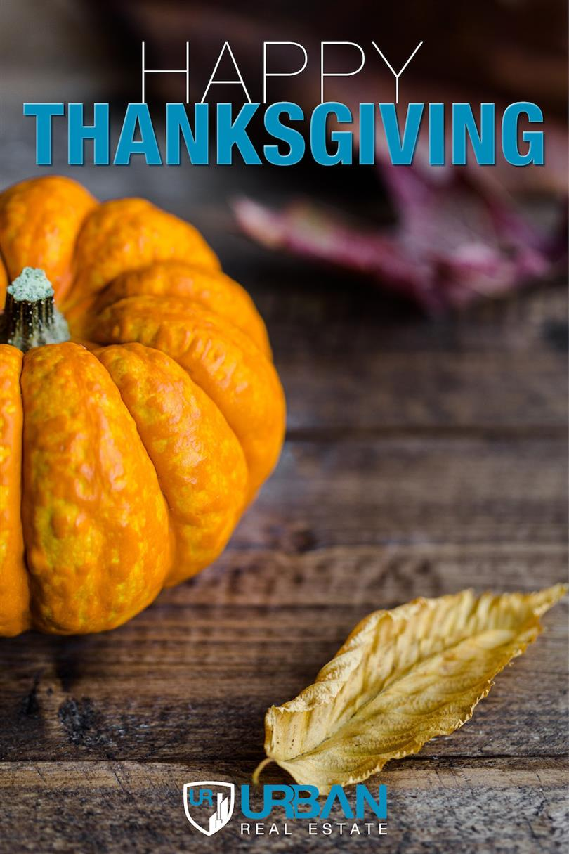 Happy Thanksgiving from Urban Real Estate