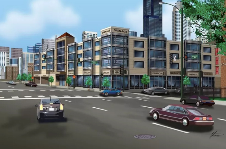 South Loop Getting New Mall