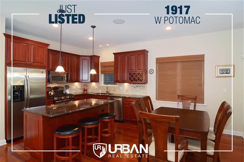 Just Listed in Wicker Park! Stunning Duplex Home
