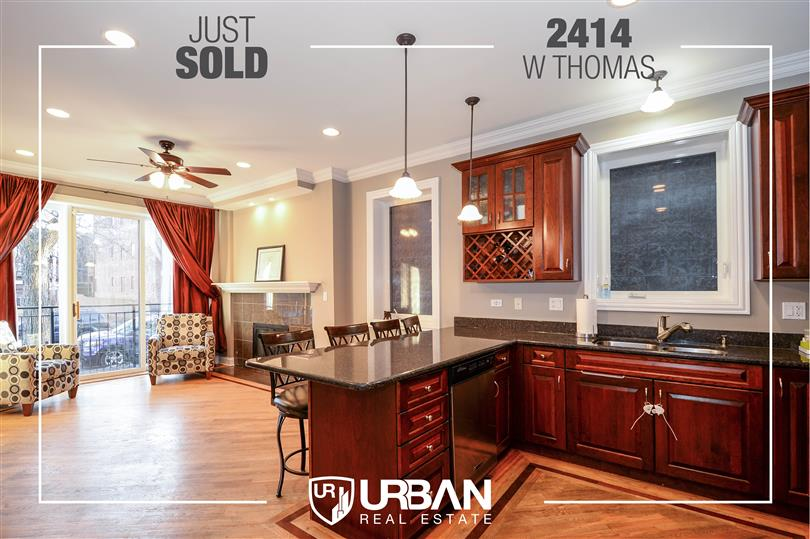 Well Appointed Duplex Just Sold in West Town