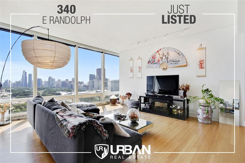 Incredible City Views at 340 On The Park Just Listed