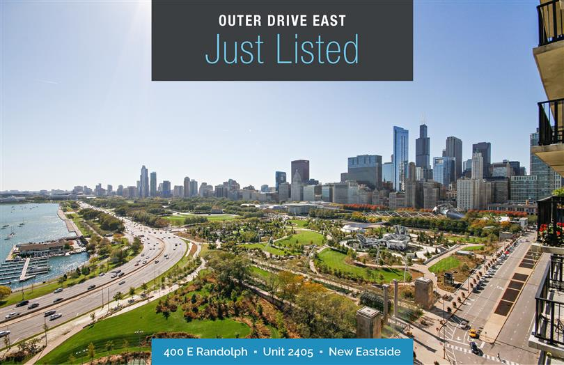Breathtaking Views  Just Listed at Outer Drive East