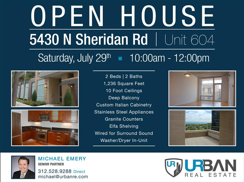 Open House Tomorrow!