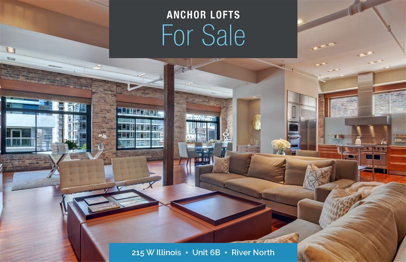 Stunning Penthouse in River North