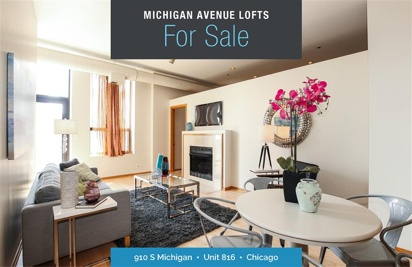 Available Now at Michigan Ave Lofts