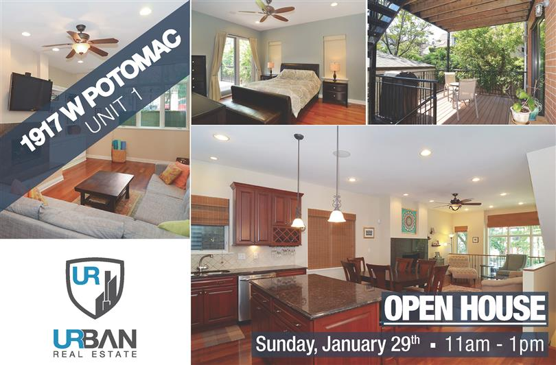 Open House Sunday in Wonderful Wicker Park