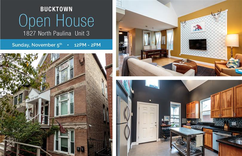 Open House This Weekend In Bucktown