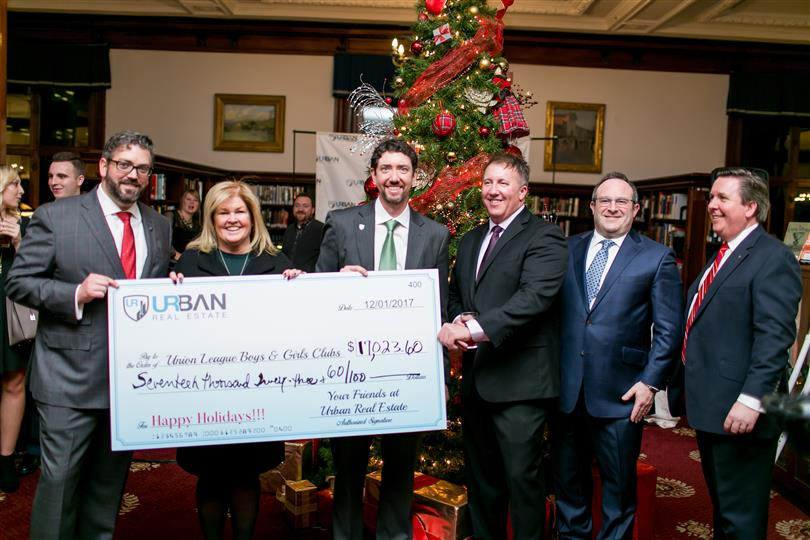 Chicago's Urban Real Estate Supports Union League Boys & Girls Clubs at its Second Holiday Benefit