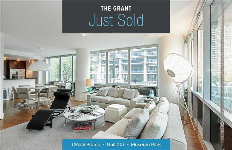 Spectacular Corner Unit Just Sold At The Grant