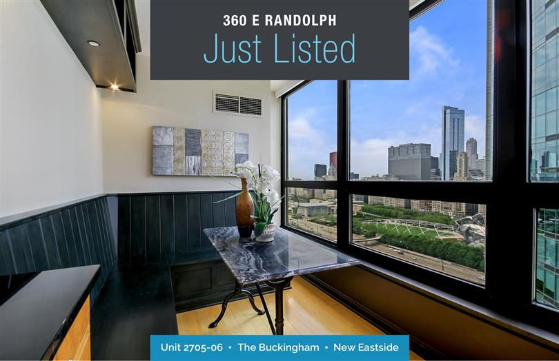 Uniquely Combined Condo Just Listed at The Buckingham