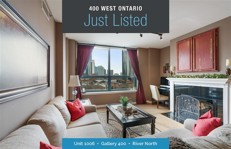 River North 2 Bed/2 Bath Just Listed