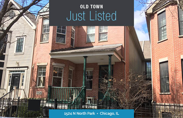 Just Listed Chic Home Located in Old Town