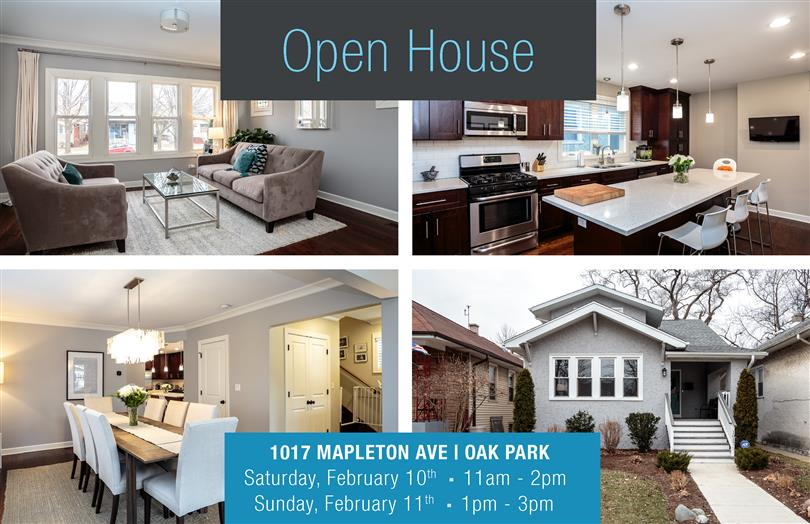 Open House This Weekend In Oak Park