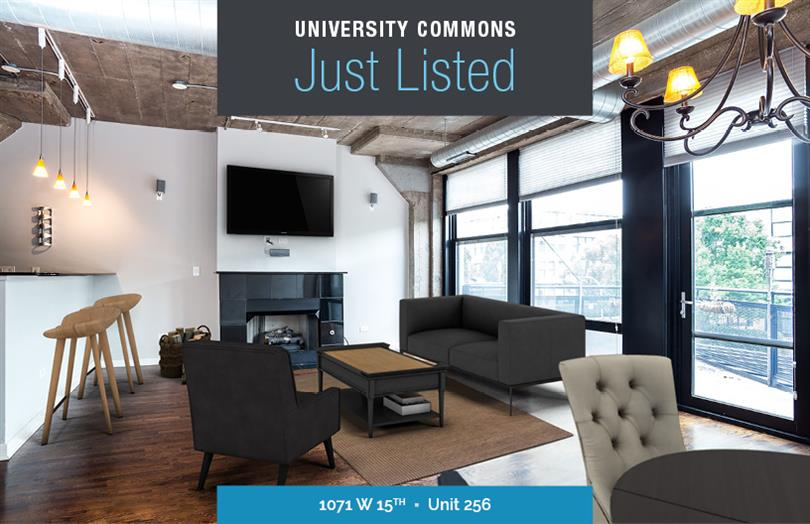 University Commons 2 Bedroom for Sale