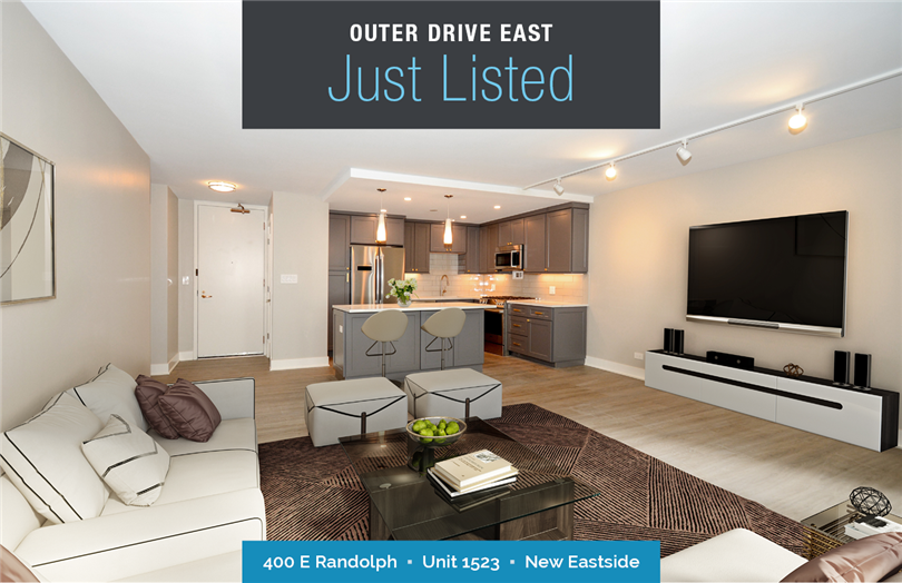 Contemporary One Bedroom Just Listed
