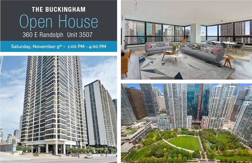 Open House: 360 E Randolph Unit 3507