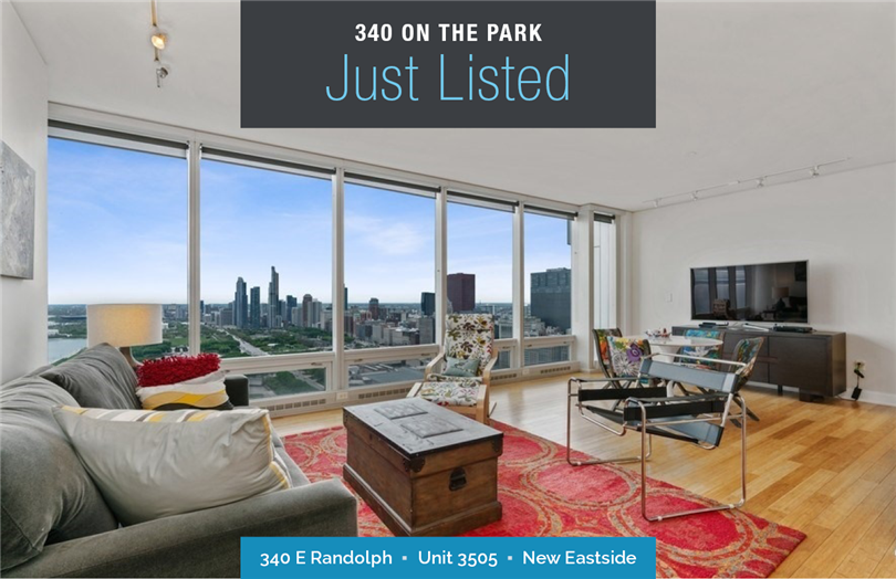 South Facing 1 Bedroom at 340 On The Park