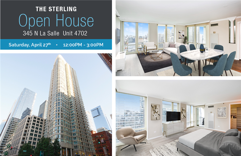 Open House - Luminous 3 Bedroom in River North