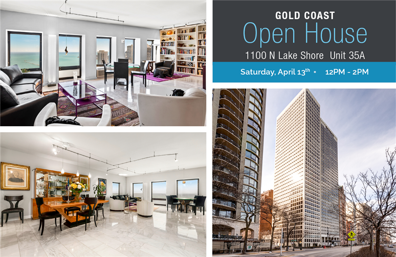 Open House - Incredible Duplex on Lake Shore Drive