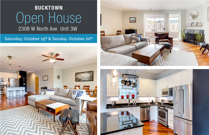 Two Open Houses: 2308 W North Unit 3W