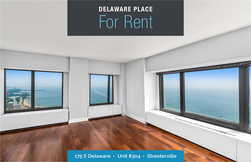4 Bedroom on the 83rd Floor at 175 E Delaware For Rent
