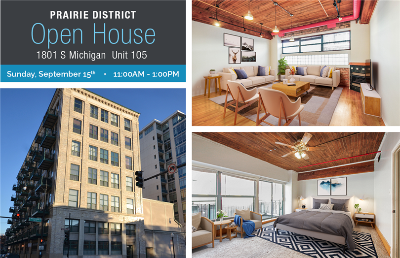 Open House: 1801 S Michigan Unit 105