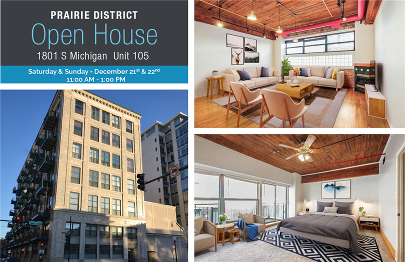 Open House: 1801 S Michigan  Unit 105