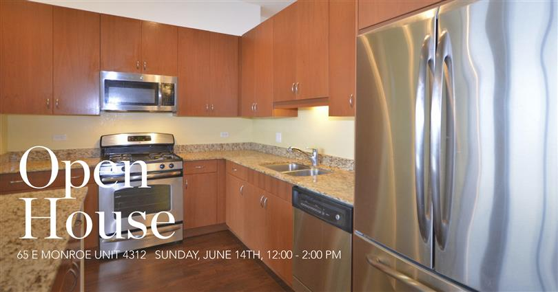 Open House | 65 E Monroe Unit 4312