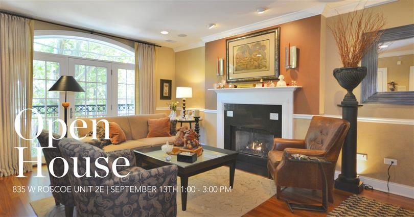 Open House | 835 W Roscoe Unit 2E