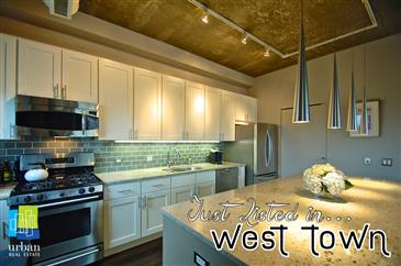 JUST LISTED!  Sleek & Sophisticated in West Town