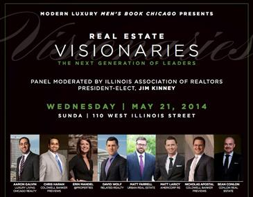 Matt Farrell Among the 'Visionaries' for Modern Luxury Men's Book Chicago Event