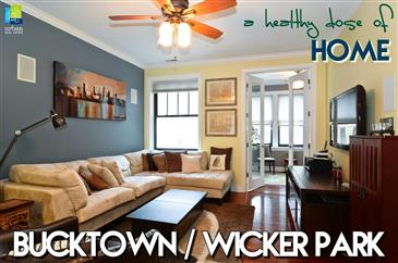 *JUST LISTED* Home Is Where The Heart Is In Bucktown/Wicker Park