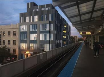 New Design Pitched For Belmont L Stop TOD