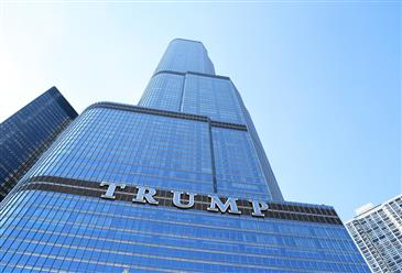 Matt Farrell talks to Chicago Tribune about living in Trump Tower post-election