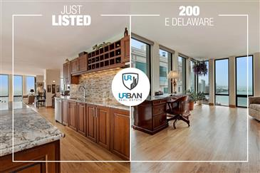 Stunning High Floor, Rarely Available Home Just Listed in Streeterville