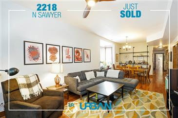 Spacious 2-Flat Just Sold!