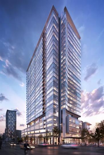Riverline's First Tower Taking Shape