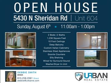 Open House on Sunday - August 6th