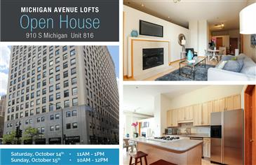 Open House at Michigan Ave Lofts