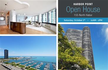 Multiple Open Houses at Harbor Point this Saturday!