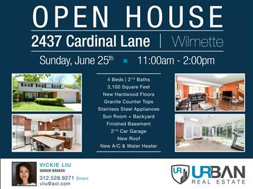 Open House This Saturday In Wilmette