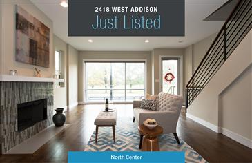 Contemporary 4 Bedroom Just Listed in North Center