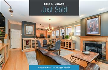 Gorgeous 4-Story Townhome Just Sold