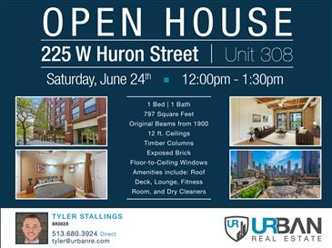 Open House at The Huron Street Lofts!