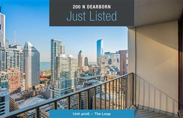 Spacious Two Bedroom at 200 N Dearborn