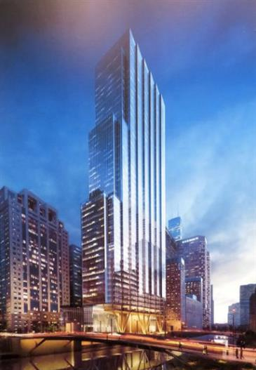 800-foot Tower Planned for Wacker Drive