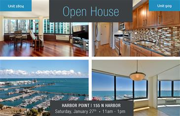 Open House Saturday at Harbor Point